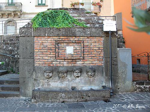 Fontana dei Canali del 1585_Alfio Barca