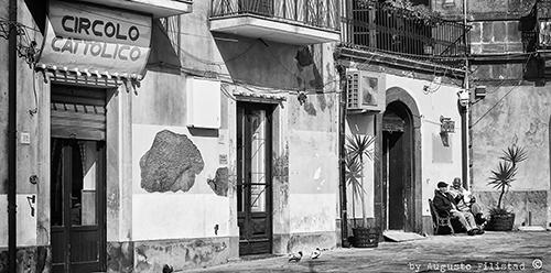 Grammichele - Piazza Carlo Maria Carafa_Augusto Filistad