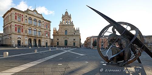 Grammichele - Piazza Carlo Maria Carafa_Giovanni Russotti