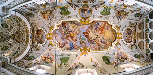 Nicosia - Chiesa di S. Vincenzo Ferreri - Affreschi fiamminghi di Guglielmo Borremans_Rocco Bertè