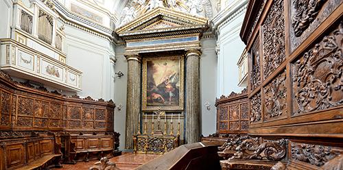 Nicosia - Coro ligneo della Cattedrale San Nicola di Bari_Giovanni Russotti