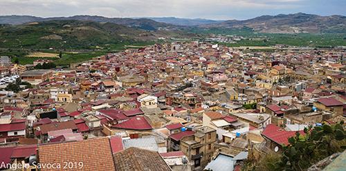 Palagonia - Panorama dal belvedere del quartiere Cassaro_Angelo Savoca