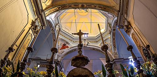 Mistretta - Dal presbiterio della Chiesa Madre di Santa Lucia_Francesco Motta