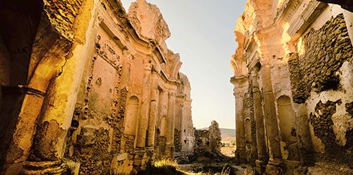 Palma di Montechiaro - Ruderi della Chiesa di Santa Maria della Luce_Giovanni Russotti