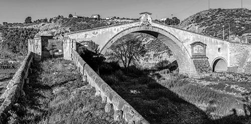 Cammamo - Termini Imerese (PA) - Il monumentale Ponte San Leonardo sul fiume omonimo_Giovanni Russotti