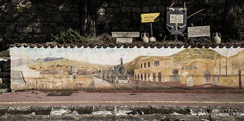Villarosa (EN) - Stazione Ferroviaria - Murales_Lillo Lagan+á