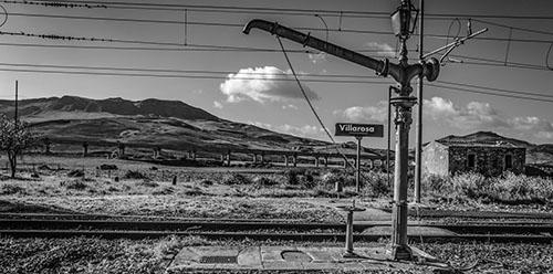 Villarosa (EN) - Stazione Ferroviaria - Pompa di ricarica idrica per locomotive a vapore (1919)_Sandra S+ínchez Mart+¡n-Nieto