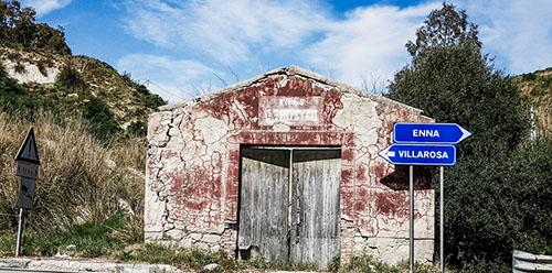 Villarosa (EN) - Strada Statale 121 Catanese - Verso Villarosa_Lillo Lagan+á